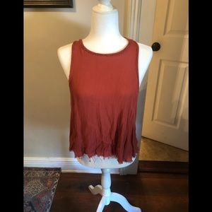 Free People Distressed Tank